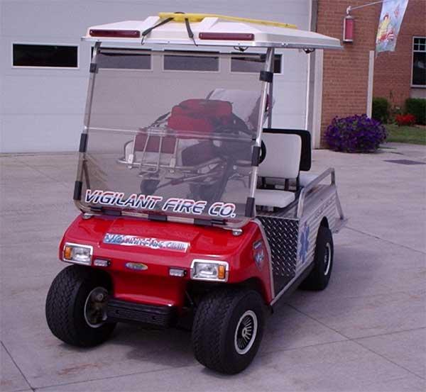 cart1 - Vigilant Fire Company on electric golf cart skateboard, electric golf cart bus, electric golf cart racing,